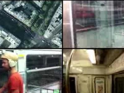 Course de vitesse dans le métro parisien