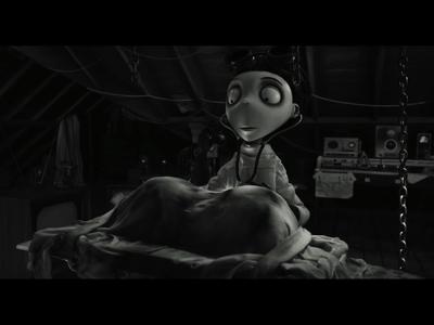 Frankenweenie de Tim Burton à l'automne 2012