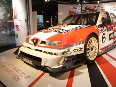 Le MotorVillage met à l'honneur les berlines sportives d'Alfa Romeo