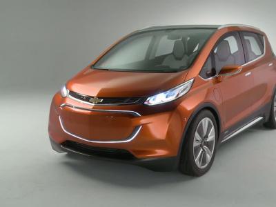 Detroit 2015: Chevrolet Bolt EV Concept, la citadine électrique de l'Oncle Sam