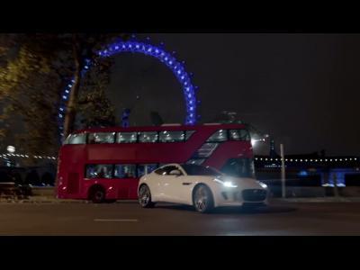 """La """"méchante"""" Jaguar F-Type coupé sera au Superbowl"""