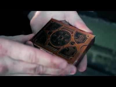 Le jeu de carte de poker steampunk
