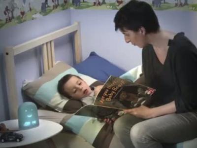Rémi : le réveil connecté qui garantit la grasse matinée des parents