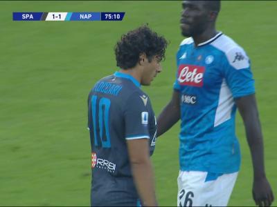 Naples : le résumé des buts contre SPAL