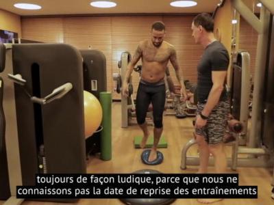 Coronavirus - Découvrez l'entraînement de Neymar, confiné au Brésil
