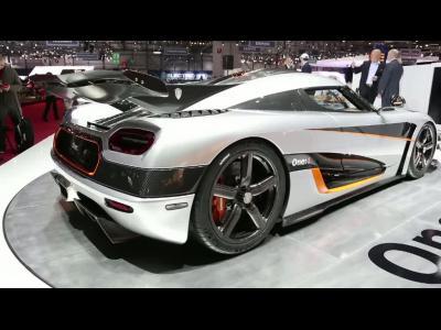 Genève 2014 : Koenigsegg One:1