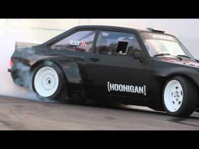 Ken Block dévoile sa Ford Escort RS, et c'est une propulsion!