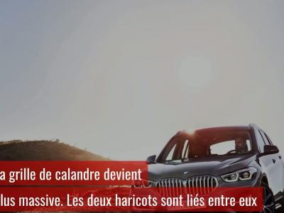 BMW X1 : présentation vidéo du restylage 2019