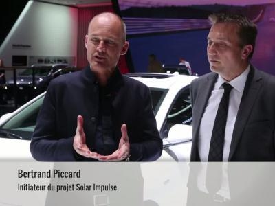 Bertrand Piccard échange son Solar Impulse contre une Hyundai Ioniq électrique