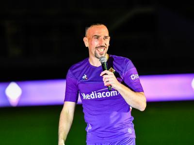 Fiorentina : les premiers mots de Ribéry en italien