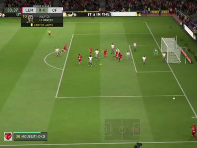 Le Mans FC - Clermont Foot 63 sur FIFA 20 : résumé et buts (L2 - 31e journée)