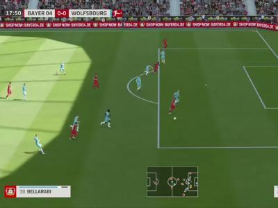 Bayer Leverkusen - Wolfsburg sur FIFA 20 : résumé et buts (Bundesliga - 28e journée)