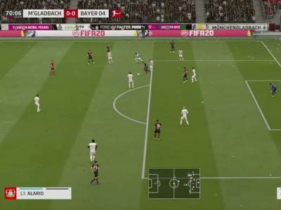 Borussia M'Gladbach - Bayer Leverkusen sur FIFA 20 : résumé et buts (Bundesliga - 27e journée)
