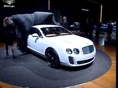 Bentley - conférence presse Genève 2009