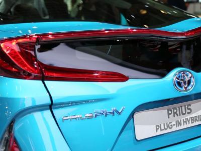 Mondial 2016 : Toyota Prius Plug-in Hybrid