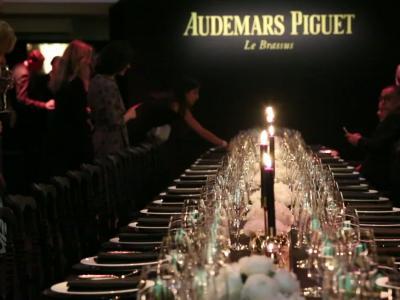 Audemars Piguet et Omar Sy : or et glamour à Paris