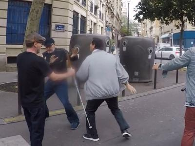 Un piéton aveugle agressé par un automobiliste après lui avoir grillé la priorité