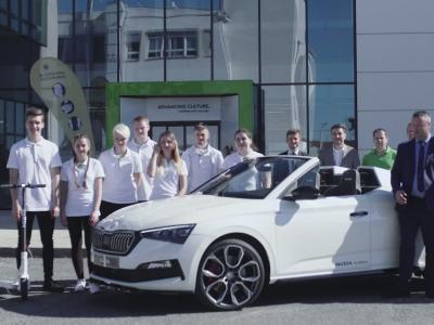 Skoda Slavia : le concept de speedster en vidéo