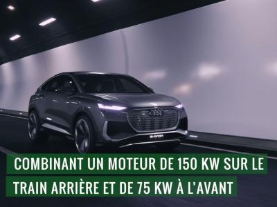 Audi Q4 e-tron Sportback : le concept en vidéo