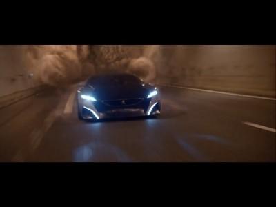 Premières images de l'Onyx, le nouveau concept car de Peugeot
