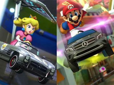Prenez le volant d'une Mercedes dans le prochain Mario Kart