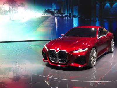 BMW Concept 4 : la future Série 4 en vidéo au Salon de Francfort 2019