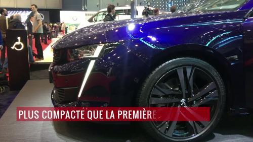 Peugeot 508 (2018) : notre vidéo depuis le salon de Genève