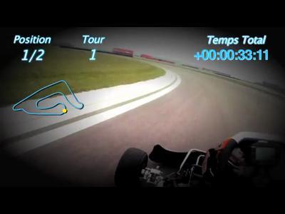 Kart versus Mercedes