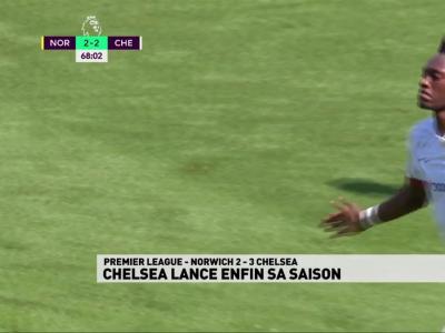 Le résumé de Norwich / Chelsea