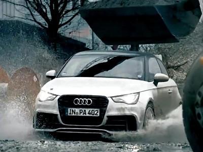 Du Gymkhana à bord d'une Audi A1 Quattro