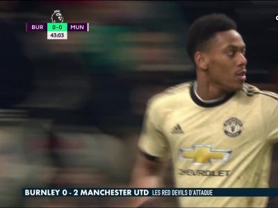 Burnley - Manchester United : Martial et Rashford donnent la victoire aux Mancuniens !