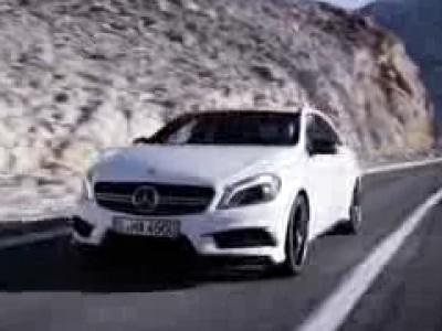 La Mercedes A 45 AMG se dévoile en vidéo