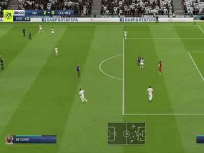 Olympique de Marseille - OGC Nice sur FIFA 20 : résumé et buts (L1 - 34e journée)