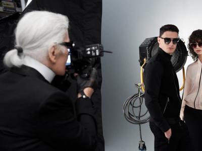 Karl Lagerfeld dévoile sa campagne printemps/été 2017