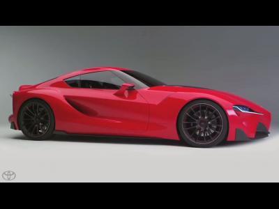 L'étonnant concept Toyota FT-1 en vidéo
