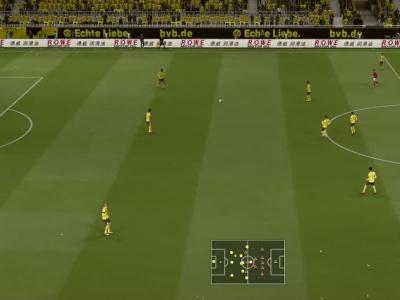 Borussia Dortmund - 1. FSV Mayence 05 sur FIFA 20 : résumé et buts (Bundesliga - 32e journée)
