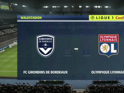 L1 - 3e journée : notre simulation FIFA 20 de Bordeaux - OL