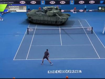 Novak vs un tank