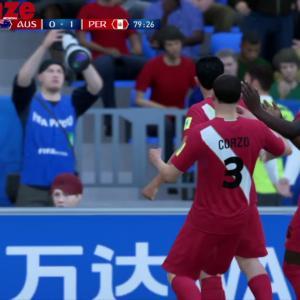 Australie - Pérou : notre simulation sur FIFA 18