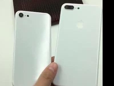 iPhone 7 : vidéo d'une version blanc de jais