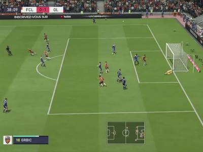 L1 - 5ème journée : notre simulation FIFA 20 de FC Lorient - OL