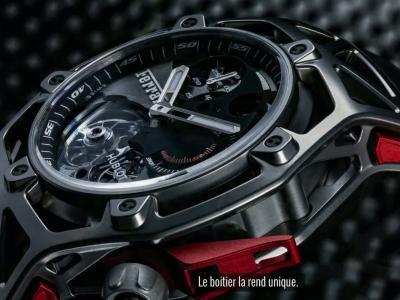 UpTime [S04E04] Découvrez la Hublot Techframe Ferrari Chronographe