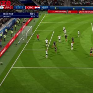 Argentine - Croatie : notre simulation sur FIFA 18