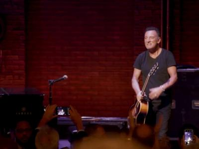 Springsteen On Broadway : le trailer du nouvel album Live du Boss