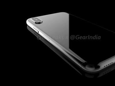 iPhone 8 : le rendu 3D du téléphone par OnLeaks et GearIndia