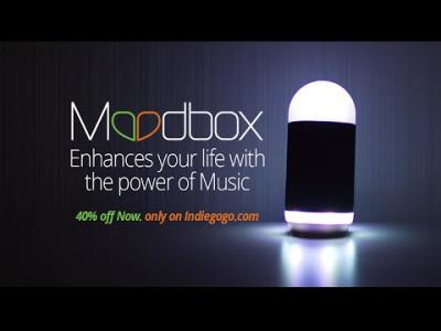 Vidéos : Moodbox, l'enceinte émotionnelle