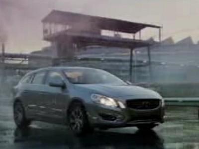 Premier  avec la Volvo V60 hybride rechargeable
