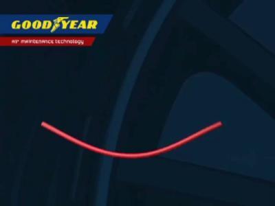 Le pneu auto gonflant de Goodyear
