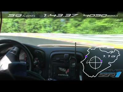 La Chevrolet Corvette ZR1 2012 s'attaque au Nordschleife