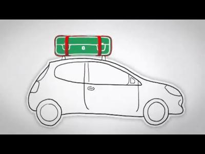 Les bons réflexes autoroute : le chargement du véhicule